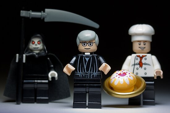 Lego Cake or Death ! by Kevin  Poulton - aka 'Sad Old Biker'