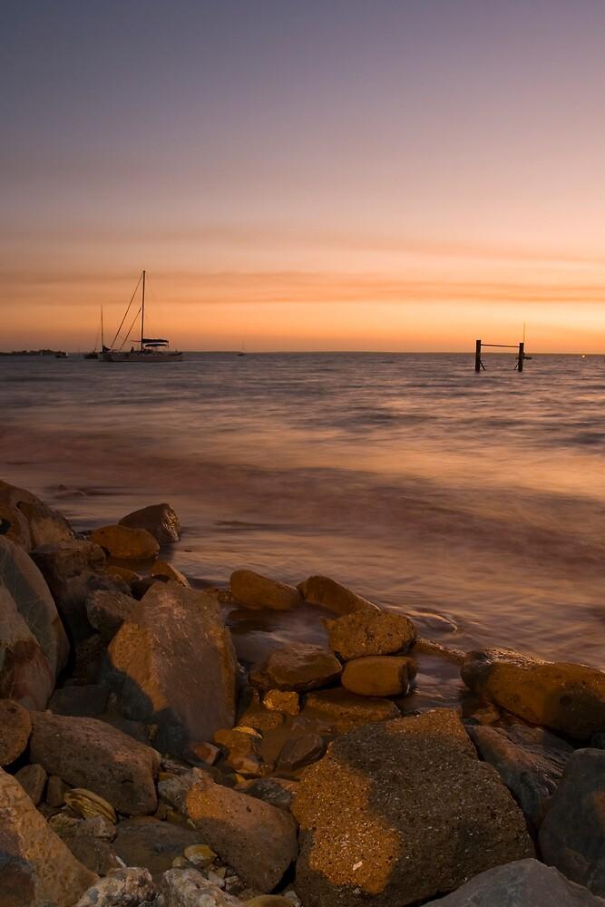 Darwin at Sunset by Chris Putnam