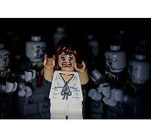 Lego Zombies - close up Photographic Print