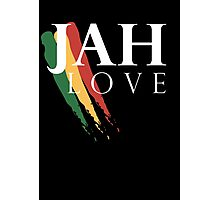 Jah Love ( WHITE ) Photographic Print