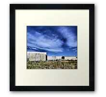 Transitional Industrial Utopia Framed Print