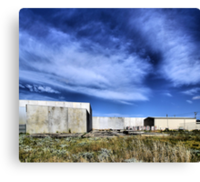 Transitional Industrial Utopia Canvas Print