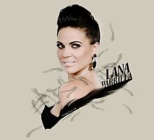 Lana Parrilla by haryalculie