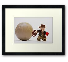 Run, Indy ! ! Framed Print