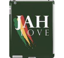 Jah Love ( WHITE ) iPad Case/Skin