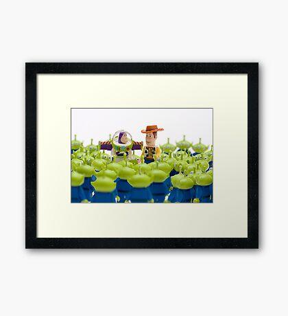 Oooooooh ! Framed Print