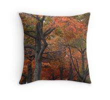 Oaks on Gnarr Throw Pillow