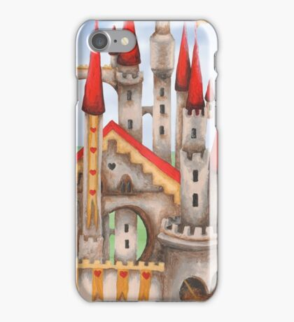 Wonderland Hearts and Turrets iPhone Case/Skin