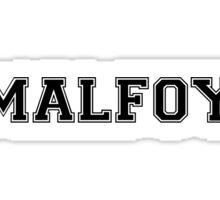 Harry Potter Baseball Tee - Draco Malfoy Sticker