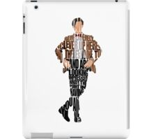 Eleventh Doctor - Doctor Who iPad Case/Skin
