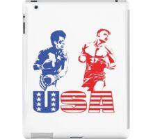 Rocky IV - Rocky Balboa vs Ivan Drago - Sylvester Stallone vs Dolph Lundgren - America vs Communism - Ultimate Showdown iPad Case/Skin