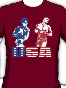 Rocky IV - Rocky Balboa vs Ivan Drago - Sylvester Stallone vs Dolph Lundgren - America vs Communism - Ultimate Showdown T-Shirt