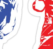 Rocky IV - Rocky Balboa vs Ivan Drago - Sylvester Stallone vs Dolph Lundgren - America vs Communism - Ultimate Showdown Sticker