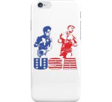 Rocky IV - Rocky Balboa vs Ivan Drago - Sylvester Stallone vs Dolph Lundgren - America vs Communism - Ultimate Showdown iPhone Case/Skin
