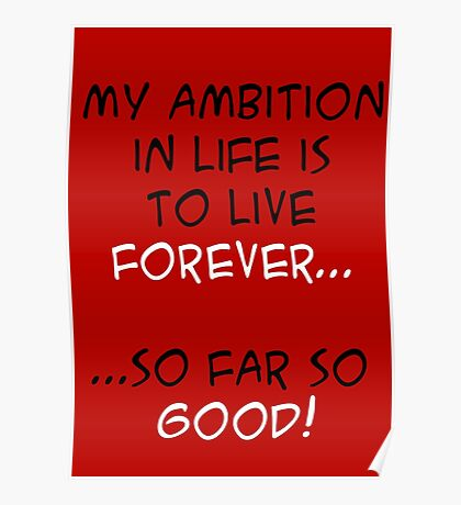 My Ambition in Life! Poster
