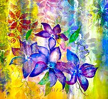 Clematis Summer... by ©Janis Zroback