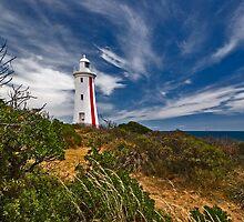 Mersey Bluff Lighthouse by Peter Daalder
