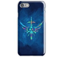 Skyward Sword Blue Alt iPhone Case/Skin