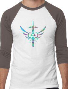 Skyward Sword Blue Alt Men's Baseball ¾ T-Shirt