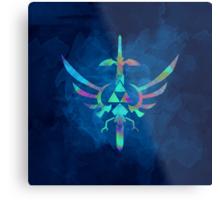 Skyward Sword Blue Alt Metal Print