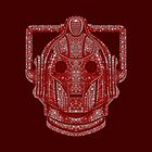 Snowflake Cyberman - Berry Red (DW) by ifourdezign