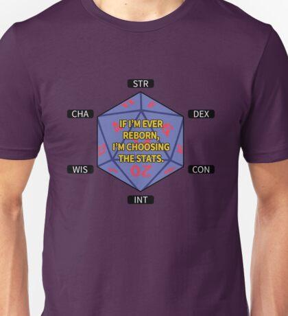 I'm Choosing the Stats Unisex T-Shirt