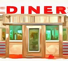 Classic Americana Diner Pop by Edward Fielding