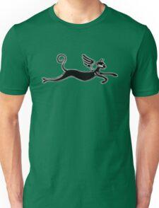 Flying cat Unisex T-Shirt