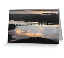 Morning Reflections in the St. Sebastian River Greeting Card