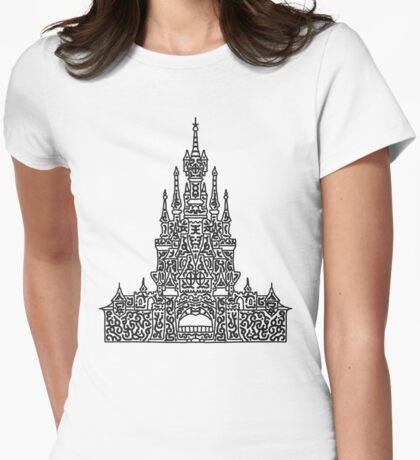 The Black Castle  Womens Fitted T-Shirt
