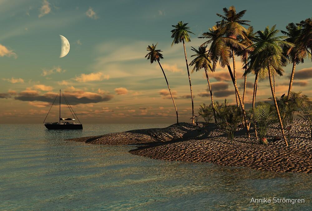 Evening in paradise by Annika Strömgren