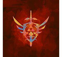 Skyward Sword Orange Photographic Print