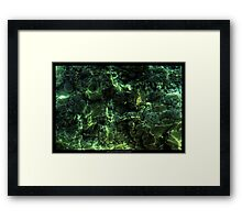Waterworld HDR (check out full screen - looks more interesting) Framed Print