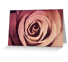time's rose Greeting Card