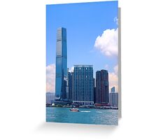 The Other Side of the River II - Hong Kong. Greeting Card
