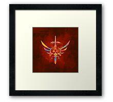 Skyward Sword Orange Alt Framed Print