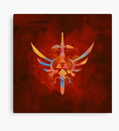 Skyward Sword Orange Alt Canvas Print
