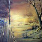 Deer Tracks by Randy Johnson
