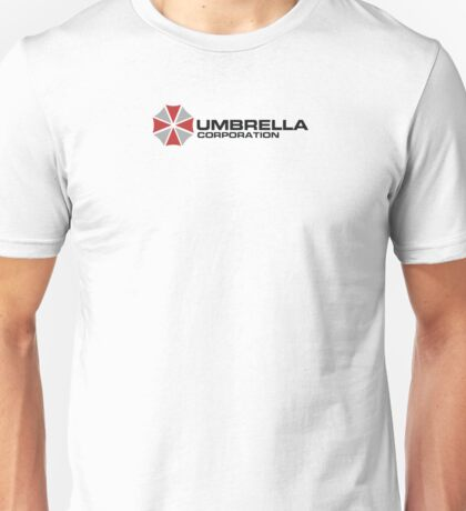 Umbrella Corporation, White, Resident Evil Unisex T-Shirt