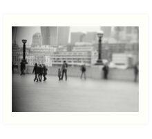 free lensing Art Print