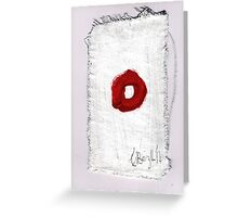 Christmas card- Red 2014 Greeting Card