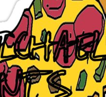 Michael Pizza Sticker