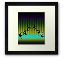 step up hip hop  Framed Print