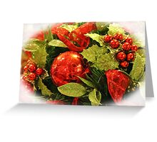 Festive Centerpiece Greeting Card