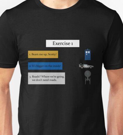 Exercise 1 Unisex T-Shirt