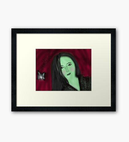 Wickedness of sorts Framed Print