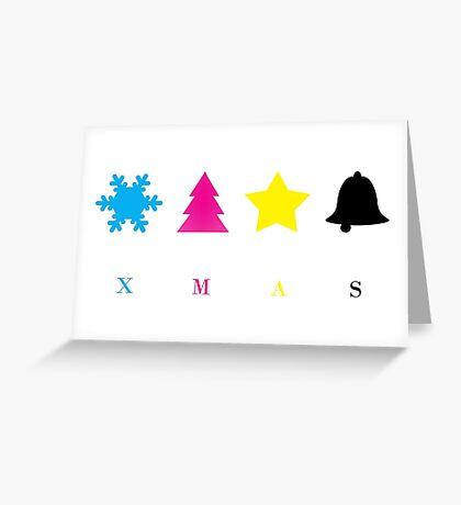 CMYK  Greeting Card