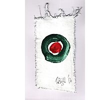 Christmas card- Red and Green 2014 Photographic Print