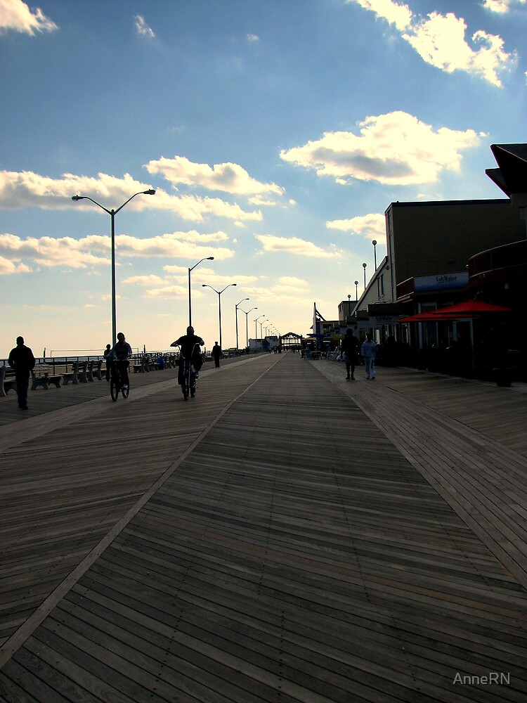 The Boardwalk - Asbury Park, NJ by AnneRN