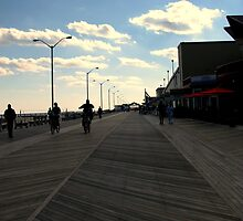 The Boardwalk - Asbury Park, NJ by AnneRN